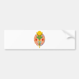 Chinese lantern Japan Festival Bumper Sticker