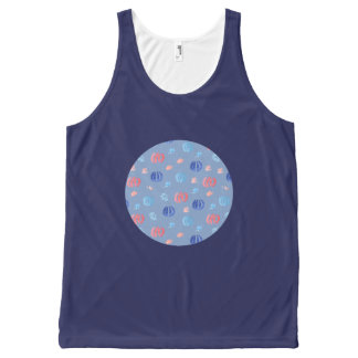 Chinese Lanterns All-Over Printed Tank Top All-Over Print Tank Top