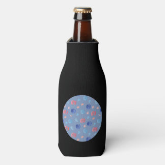 Chinese Lanterns Bottle Cooler
