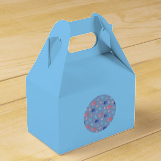 Chinese Lanterns Gable Favor Box