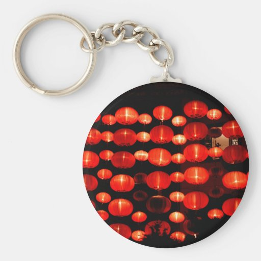 Chinese Lanterns Key Chain