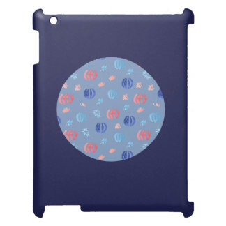 Chinese Lanterns Matte iPad Case