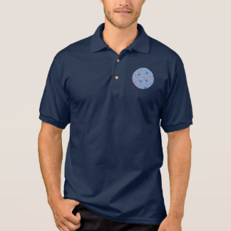 Chinese Lanterns Men's Polo Shirt