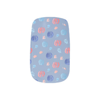 Chinese Lanterns Minx Nail Art