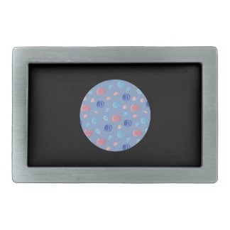 Chinese Lanterns Rectangle Belt Buckle