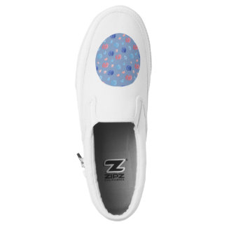 Chinese Lanterns Slip On Shoes Printed Shoes