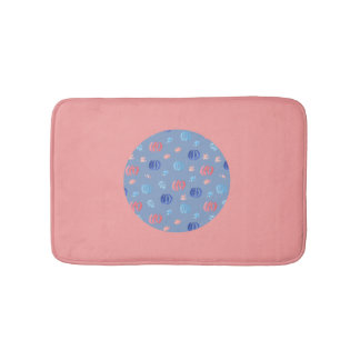 Chinese Lanterns Small Bath Mat