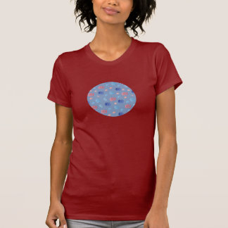 Chinese Lanterns Women's Jersey T-Shirt