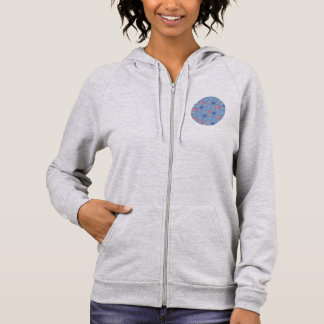 Chinese Lanterns Women's Zip Hoodie