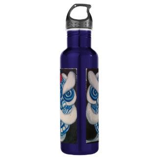 Chinese Lion Water Bottle-Blue Lion 710 Ml Water Bottle