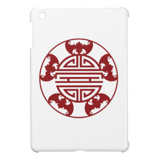Chinese Longevity Five Blessings Symbols iPad Mini Cover