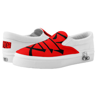 Chinese Love Slip-On Shoes