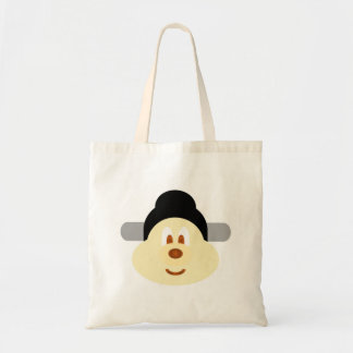Chinese Male Hat 鮑 鮑 Budget Tote