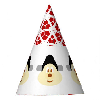 Chinese Male Hat 鮑 鮑 Party Hat