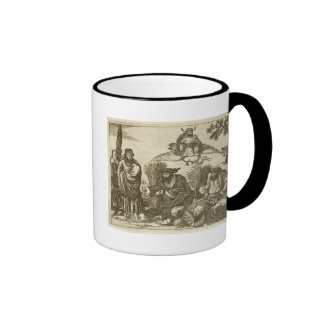 Chinese Merchants Consulting Fortune Tellers to En Mug