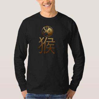 Chinese Monkey Year Zodiac Astrology Men Shirt