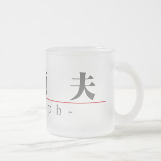Chinese name for Adolph 20397_3.pdf Frosted Glass Coffee Mug