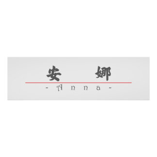 Chinese name for Anna 20020_4 pdf Print