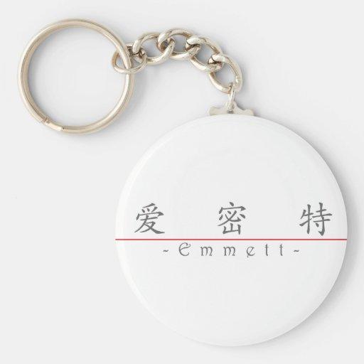 Chinese name for Emmett 22221_1.pdf Key Chains