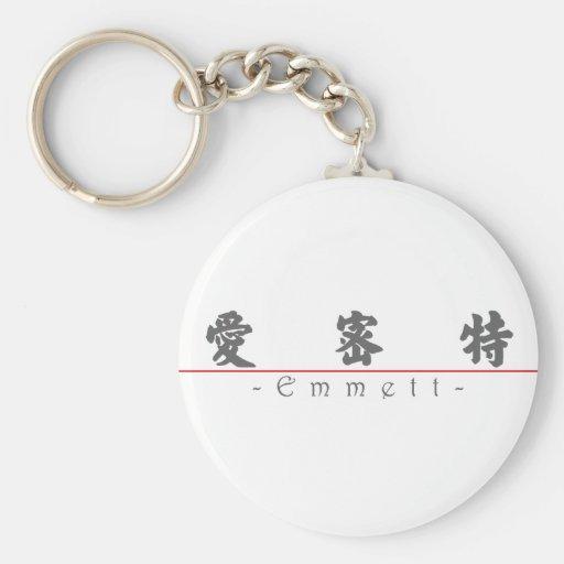 Chinese name for Emmett 22221_4.pdf Keychain