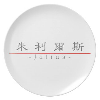Chinese name for Julius 20668_2 pdf Party Plate