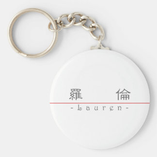 Chinese name for Lauren 20200_2 pdf Keychains