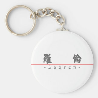 Chinese name for Lauren 20200_4 pdf Key Chain