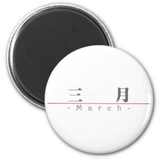Chinese name for March 60007_3 pdf Refrigerator Magnet