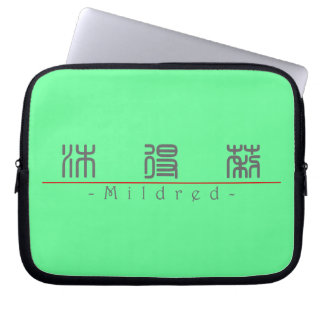 Chinese name for Mildred 20248_0 pdf Computer Sleeve