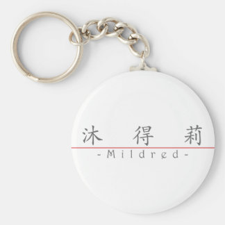 Chinese name for Mildred 20248_1.pdf Key Chain