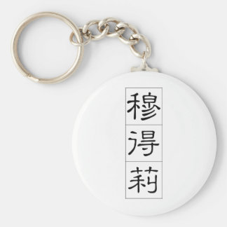 Chinese name for Mildred 20248_2.pdf Keychain