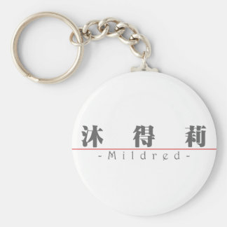 Chinese name for Mildred 20248_3.pdf Keychain