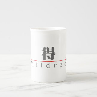 Chinese name for Mildred 20248_3.pdf Bone China Mug