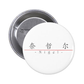 Chinese name for Nigel 20749_1 pdf Pinback Button