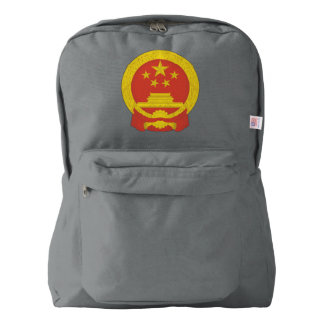 Chinese National Emblem Backpack