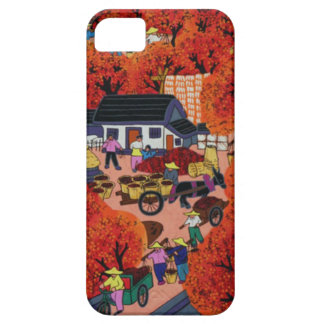 Chinese New year,Chinese village Case For The iPhone 5