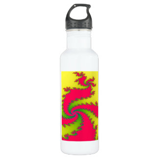 Chinese New Year Dragon Fractal 710 Ml Water Bottle