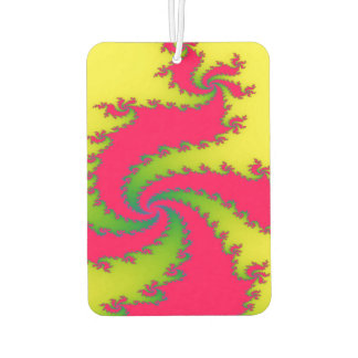 Chinese New Year Dragon Fractal Air Freshener