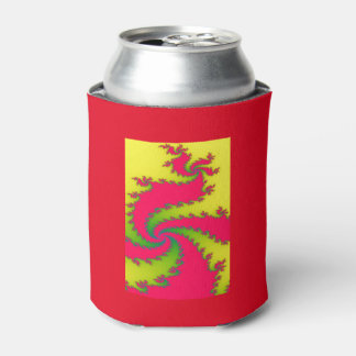 Chinese New Year Dragon Fractal Can Cooler