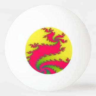 Chinese New Year Dragon Fractal Ping Pong Ball