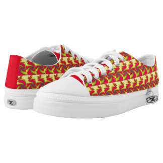 Chinese New Year Dragon Fractal Shoes