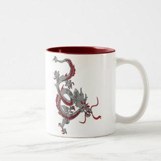 Chinese New Year Dragon Two-Tone Mug