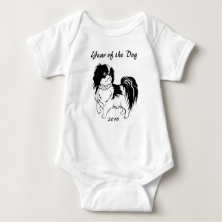 Chinese New Year of the Dog 2018 Baby Bodysuit