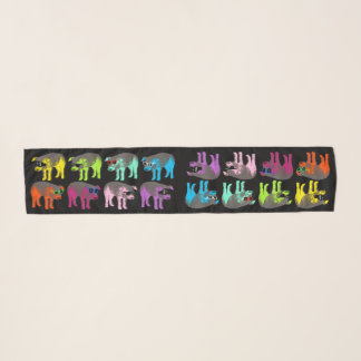 Chinese New Year of the Pig Pop 2019 Chiffon Scarf