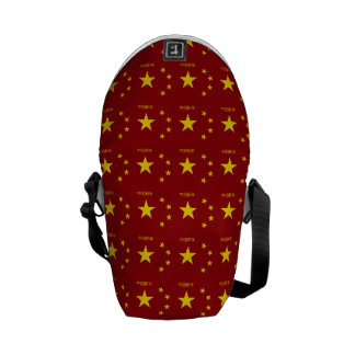 Chinese New Year Pattern Messenger Bag