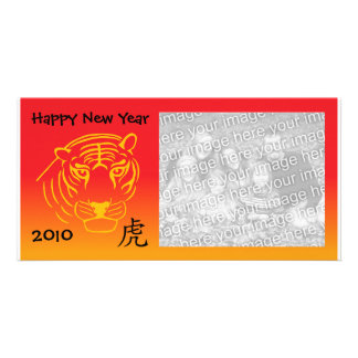 chinese new year photocard photo greeting card