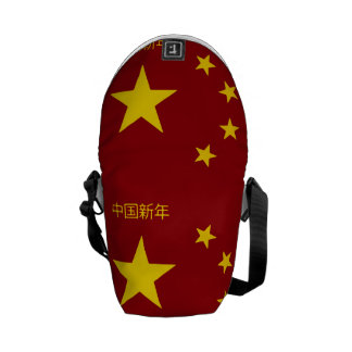 Chinese New Year Poster Commuter Bags