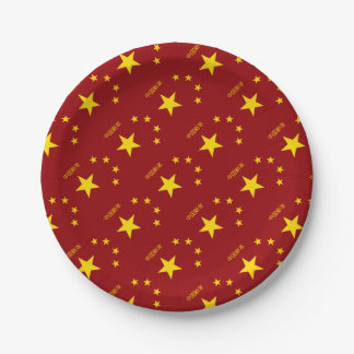 Chinese New Year Poster Paper Plate