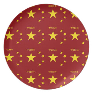 Chinese New Year Poster Plate