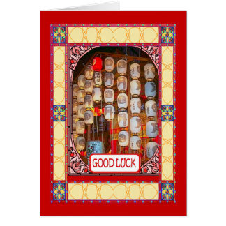 Chinese New Year, temple lanterns Cards